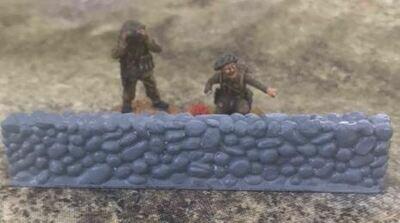 28mm Stone wall terrain