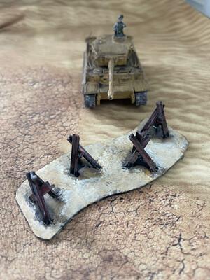 Resin Tank Traps 28mm