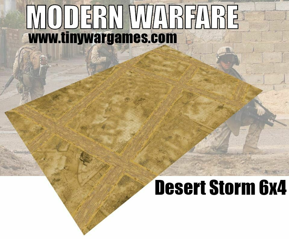 Desert Storm 6x4 cloth