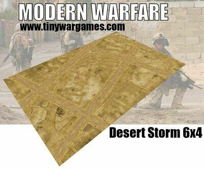 Desert Storm 6x4 cloth