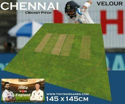 Chennai Cricket Pitch 145x145cm velour