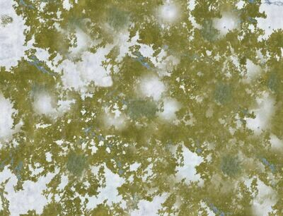 Frozen grasslands 6x4 cloth