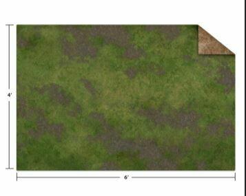 Monster Mat 6x4 broken grass/desert scrubland wargame mat