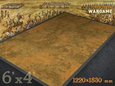 """The Battlemat (020) """"Burned-out grass plain"""""""