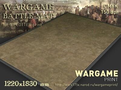 """The Battlemat (012) """"Grass plain"""""""