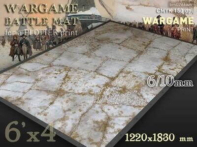 The Winter Fields (bm0266wn) 6x4 (6mm / 10mm) cloth