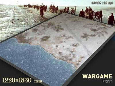 Winter Coastal Mat 6 x4 feet