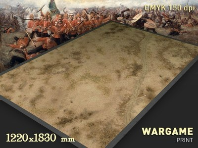 Zulu wars mat 6x4 feet
