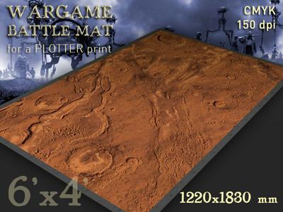 Mars 6x4 feet
