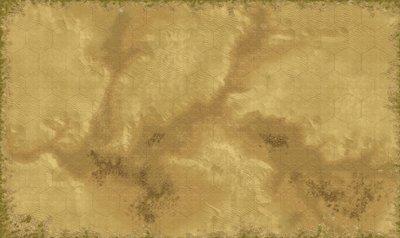 Desert 5 x 3 feet with 4 inch hex