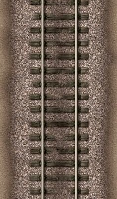 Rail Road Strip 6 feet by 3.5 inches approx