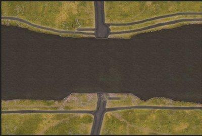 Pegasus Bridge cloth mat 28mm 6x4 feet