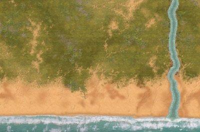 6x4 Lamato River cloth mat