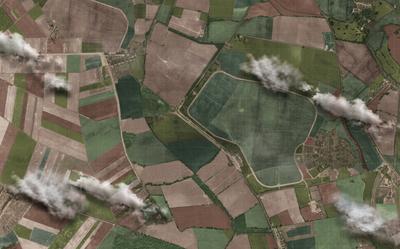 Kent Farmland Aerial 8x5