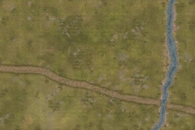 Roads River 2 6x4 feet