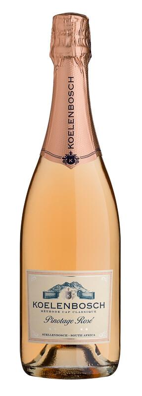 Koelenbosch Pinotage Rosé MCC 2019 (per 12 bottle case)