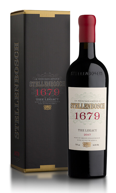 Stellenbosch 1679 The Legacy 2017 - Bordeaux Blend (per bottle)