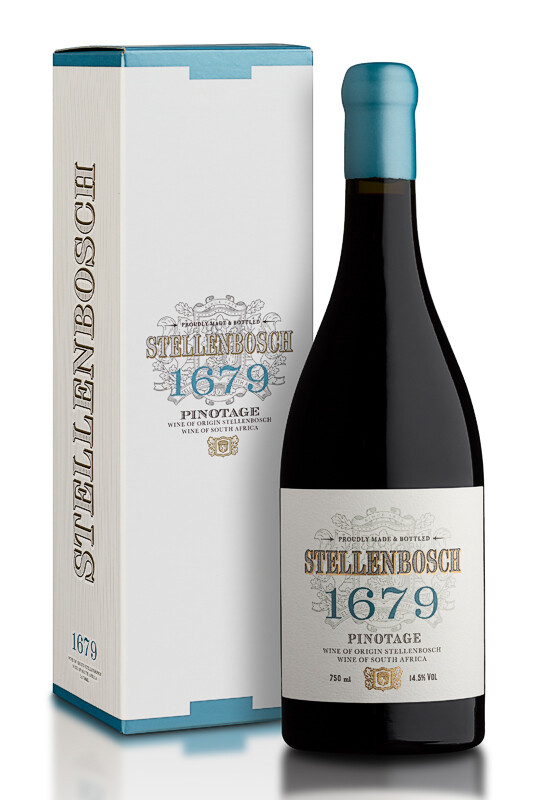 Stellenbosch 1679 Pinotage 2019 (per bottle)