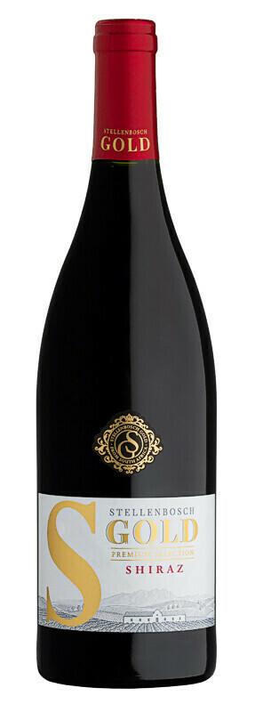 Stellenbosch Gold Shiraz 2018 (per 12 bottle case)