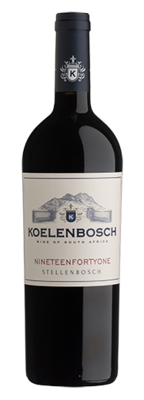 Koelenbosch Nineteenfortyone 2018 (per 12 bottle case)