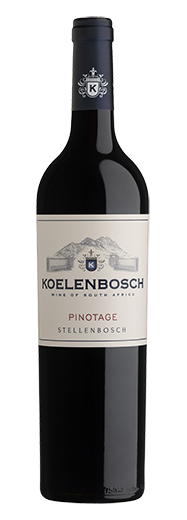 Koelenbosch Pinotage 2018 (per bottle)