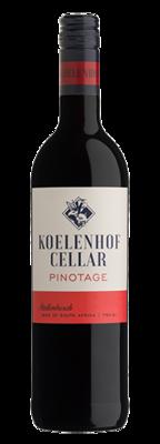 Koelenhof Cellar Pinotage 2019 (per 12 bottle case)