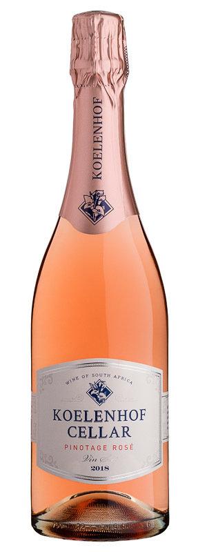 Koelenhof Pinotage Rosé Vin-Sec 2020 (per 12 bottle case)