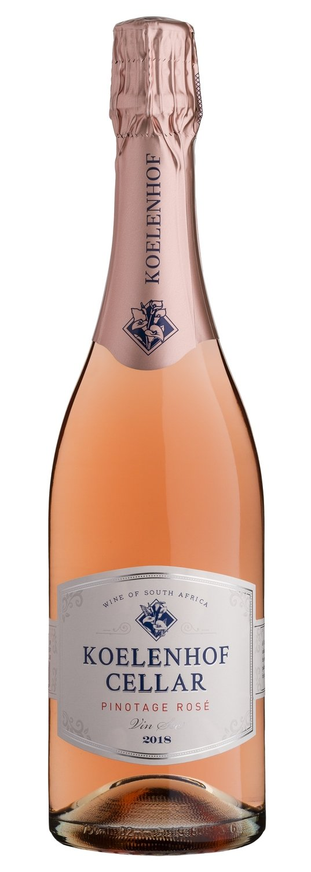 Koelenhof Pinotage Rosé Vin-Sec 2020 (per bottle)