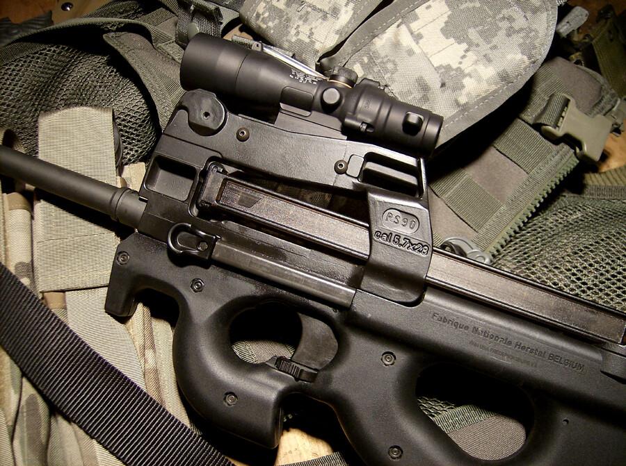 ACOG Lo-Mount P90-PS90