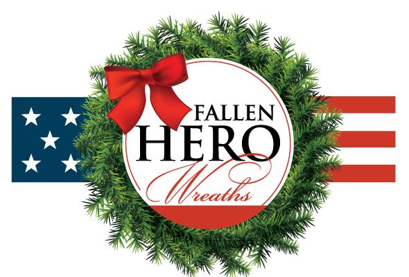"""26"""" FALLEN HERO WREATH (9/29/21-10/22/21)"""