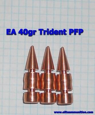 EA .224 Cal 40gr Trident BULLET (100 Bullets) PRE-ORDER