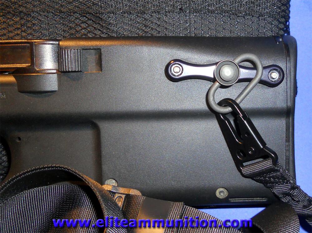 Black Elite Ammunition Quick Disconnect Rear