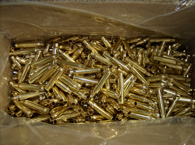 .223 Virgin MilSpec Heavy Crimped Primers  Brass (50 Primed Cases)