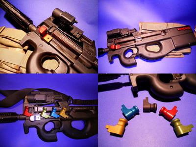 BLACK Elite Ammunition Extended Charging Handle