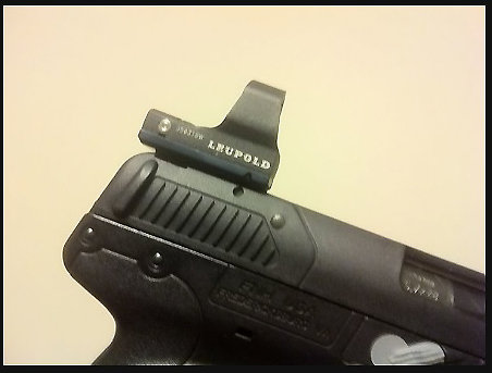LEUPOLD DELTAPOINT and  DELTAPOINT PRO MOUNT FOR THE USG/IOM
