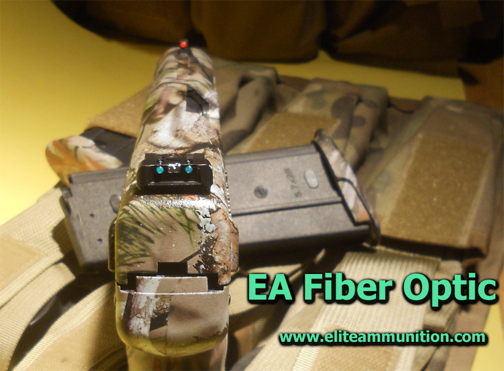 EA MarkII Adjustable Fiber Optic Sights