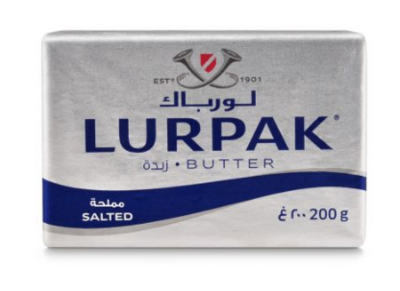 LURPAK DANISH BUTTER SALTED - $5.00
