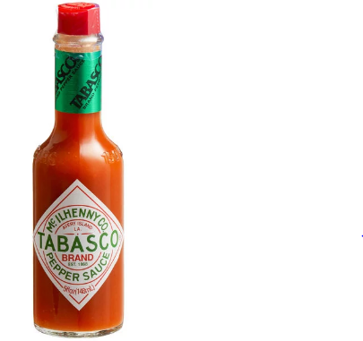 TOBASCO PEPPER SAUCE