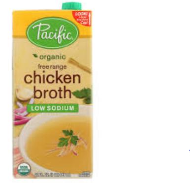 ORGANIC FOODS CHICKEN BROTH LOW SODIUM