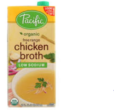 ORGANIC FOODS CHICKEN BROTH LOW SODIUM