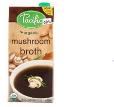 ORGANIC FOODS MUSHROOM BROTH