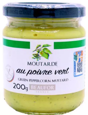 MOUTARDE GREEN PEPPERCORN MUSTARD