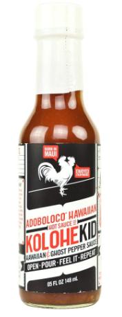 KOLOHEKID HAWAIAN GHOST PEPPER SAUCE - HOT