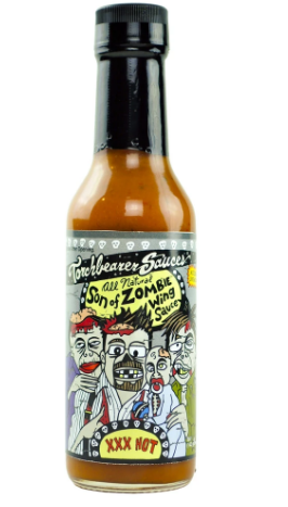SON  OF  ZOMBIE WING SAUCE XXX HOT