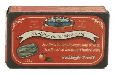 LA GONDOLA SARDINES IN TOMATO SAUCE & OLIVE OIL