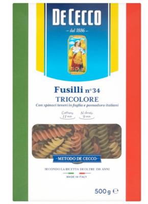 DECECCO FUSILI TRICOLORE