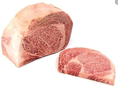 JAPAN  MIYAZAKI RIBEYE A 4/5 - $19.80 PER 100 GMS
