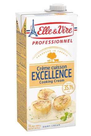 ELLE & VIRE COOKING CREAM 1 LITRE