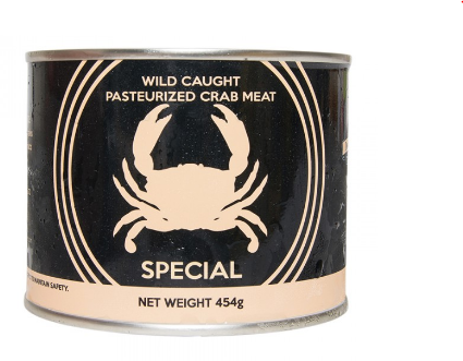 WILD CAUGHT PASTEURIZED CRAB MEAT
