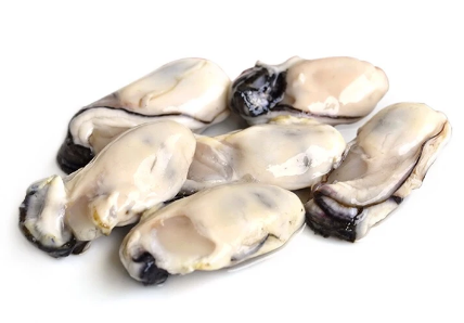 OYSTER'S MEAT, COOKING - KOREA